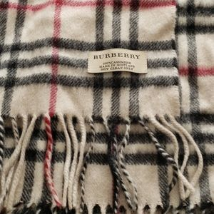 Authentic Unisex Burberry Cashmere Scarf